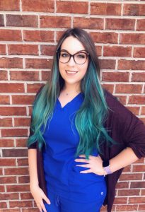 Chelsea Simonds, Office Manager